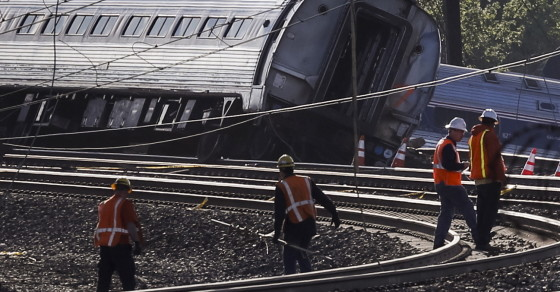 Amtrak Crash: Broken Rails Are Leading Cause of Train Derailments