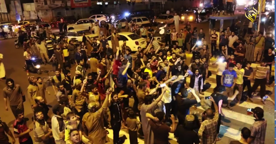 "ISIS Fighters Euphoric, Celebrate ""Great Ramadi Victory"""