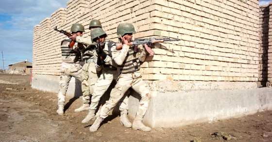 American Forces Train Iraqi Recruits To Fight ISIS