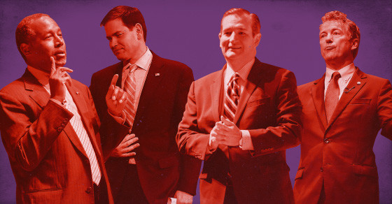 How Do You Debate With A Huge Field Of GOP Presidential Candidates?