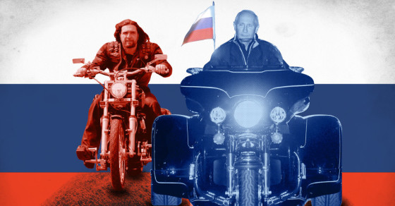Putin's Biker Gang Pockets More Than $1 Million From Russia's Coffers