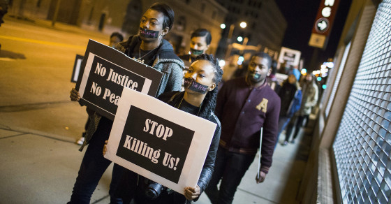 White America Supports Protests—Unless Black People Are Involved