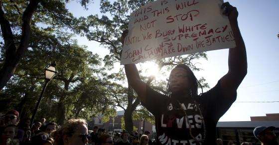 Hashtag Tells Civil Rights Activist To Leave Charleston