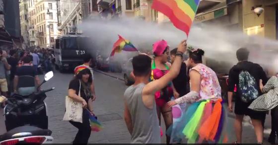 Turkish Police Break Up Pride Parade, After Parties