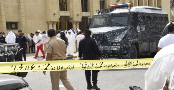 ISIS Says It's Behind Rare Suicide Bombing In Kuwait