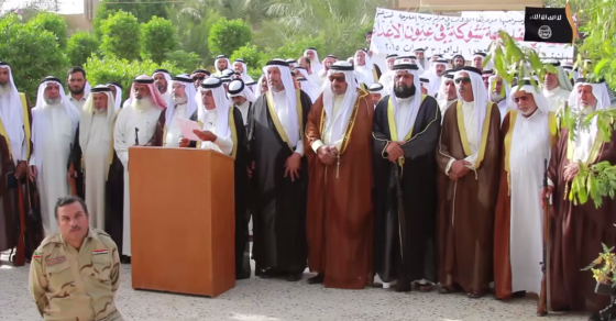 ISIS Collects Tributes From Sunni Tribes Now Under Its Control