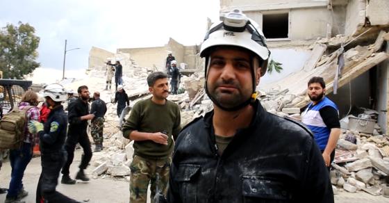 Syria's White Helmets Volunteers Bring Help To Civilians