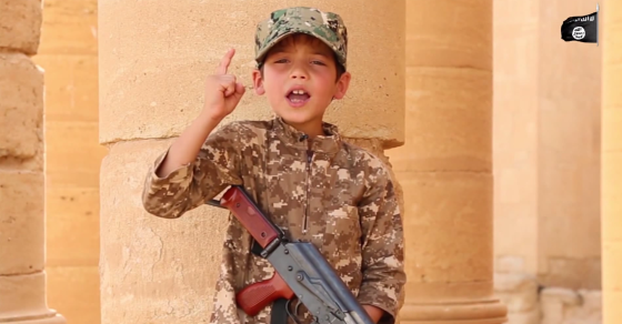 "ISIS Boy In New Video: ""Give Me My Weapon"""