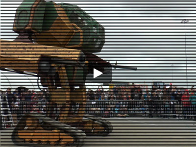 America Challenges Japan To Giant Robot Showdown