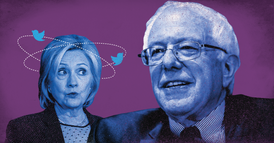Where Bernie Sanders Is Beating Hillary Clinton