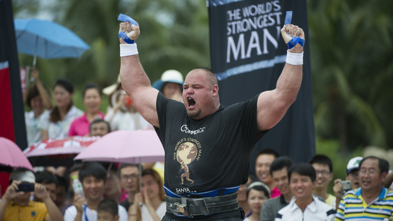 The World's Strongest Man Eats 7,360 More Calories Than ...