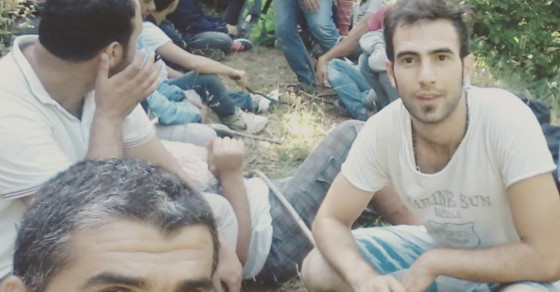 Selfies, Smartphones Bring Comfort To Migrants On Balkan Route