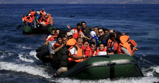 Migrants From Syria, Iraq Offer Rare Look Into Perilous Voyage