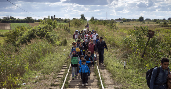 Americans Don't Know Why Migrants Are Fleeing To Europe