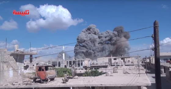 Syrian Rebels Claim Civilians Killed In Russian Airstrikes