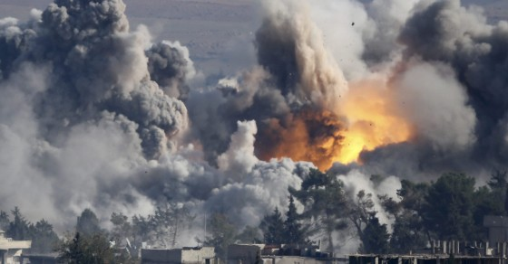 Russian Air Strikes Finally Strike ISIS In Its Capital