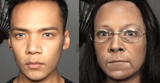 This Man Used His Makeup Skills To Transform Into…Kim Davis