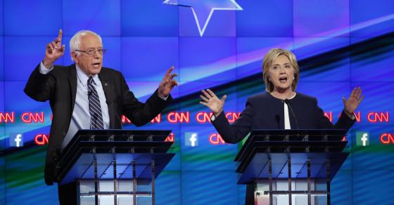 Feel The Bern: Sanders Owned The Internet On Debate Night