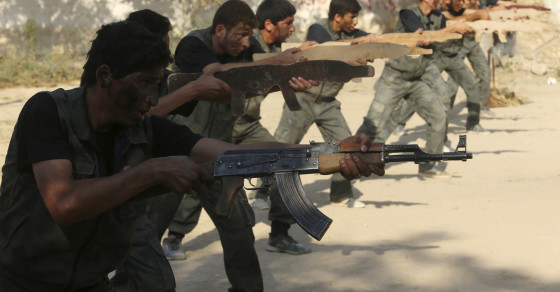 The U.S. Wasted Hundreds Of Millions Of Dollars Training Syrian Rebels