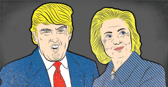 Trump Just Upstaged Hillary In A Big Way