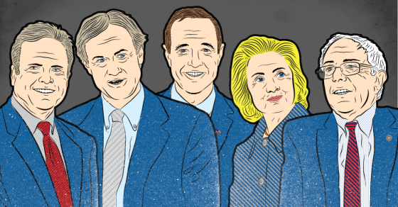 How The Rich Got Richer At The Democratic Debate