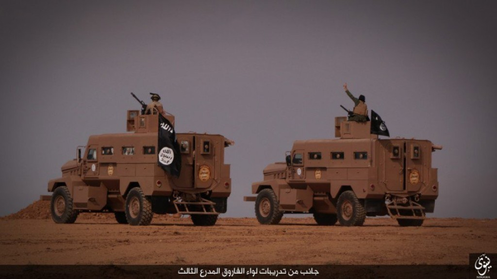 ISIS American U.S. Humvee Tank Armored Vehicle 11