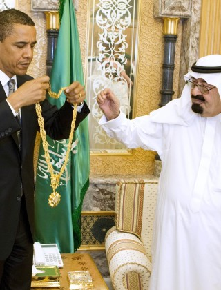 Obamas Bling Ring: First Family Has Received Gold Watches and Jewels Worth Millions From Saudi King