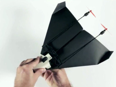 This Paper Airplane Drone Comes With A Live-Streaming Camera