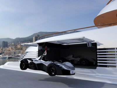 This Supercar Is The Perfect Accessory For Your Superyacht