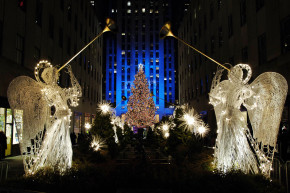 Big Rockefeller Christmas Tree Leaves Huge Carbon Footprint