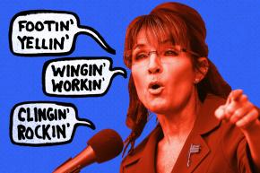 The Weirdest Parts Of Sarah Palin's Endorsement Speech