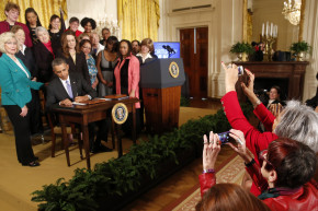 Obama's Long Battle For Equal Pay