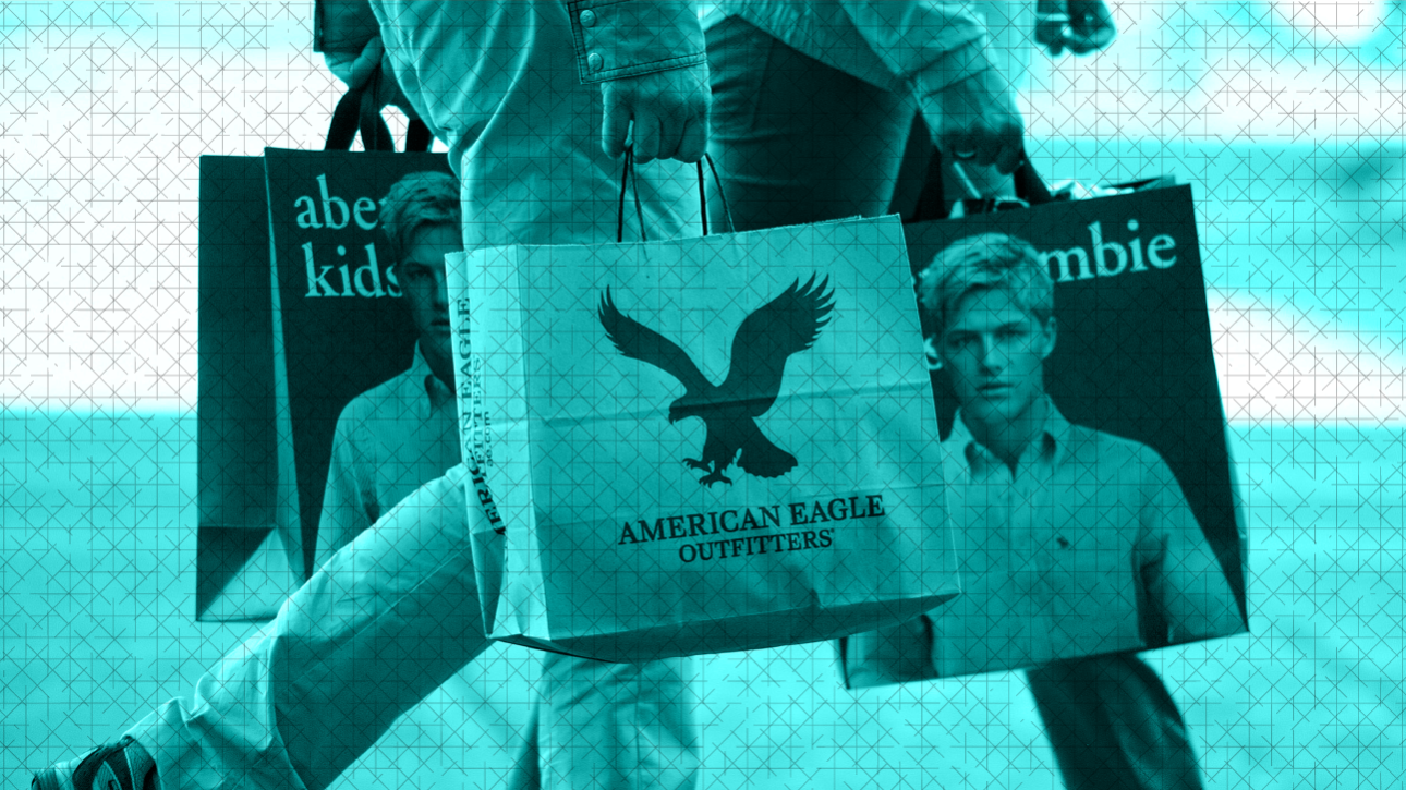 abercrombie fitch vs american eagle If you came of age in the late-'90s-early-2000s, you had to deal with the  douchebags that roamed the halls in abercrombie & fitch, american.