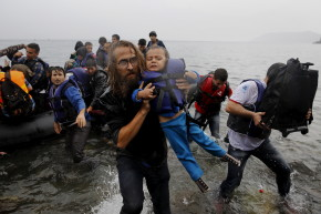 A Third Of Migrants Crossing From Turkey To Greece Are Children