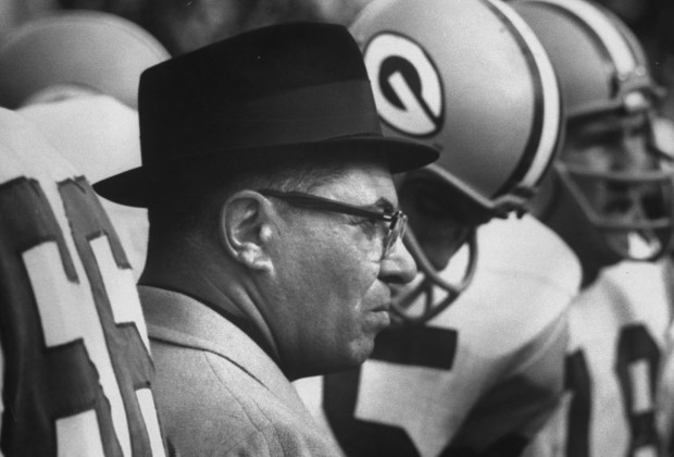 Green Bay Packers Coach Vince Lombardi.  (Photo by George Silk/The LIFE Picture Collection/Getty Images)