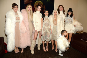 The Kardashians Were The Most Interesting Thing At The Yeezy Show