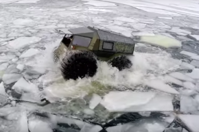 Conquer Earth With Russia's New Awesome All-Terrain Vehicle