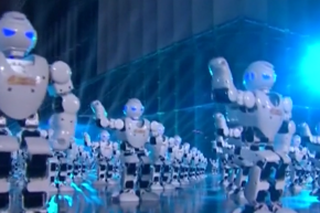 Robots And Drones Kick Off Chinese New Year
