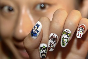 Monkey Nail Art Is Blowing Up In China