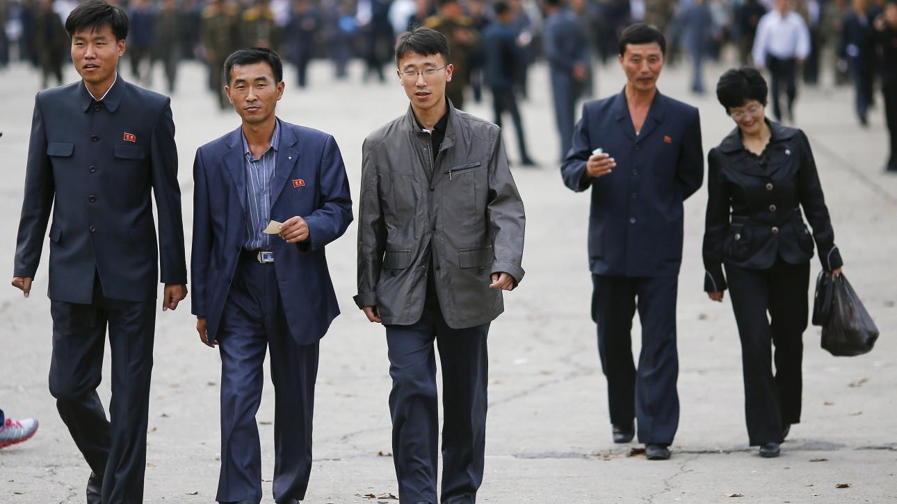 Black market fashion drives change in north korea vocativ pyongyang fashion reuters sciox Image collections