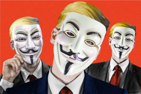 Anonymous Hackers Find A Free-Speech Hero In Trump