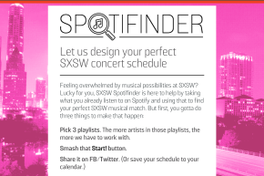 Tailor Your SXSW Music Schedule With Vocativ's Spotifinder App