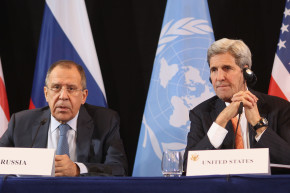 Kerry and Lavrov Start Syria Negotiations With Old Man Jokes