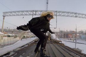 Riding With Russia's Train-Surfing Daredevil Teens