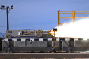 Watch The Air Force's Maglev Sled Hit 633 MPH