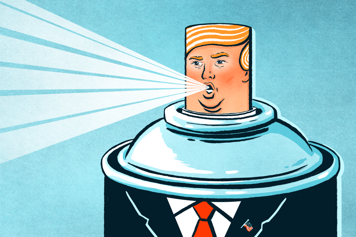 Donald Trump's Weird Anti-Science Obsession With Hairspray - Vocativ