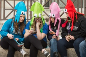 Half Of Teenagers Admit They Can't Put Down Their Cellphones