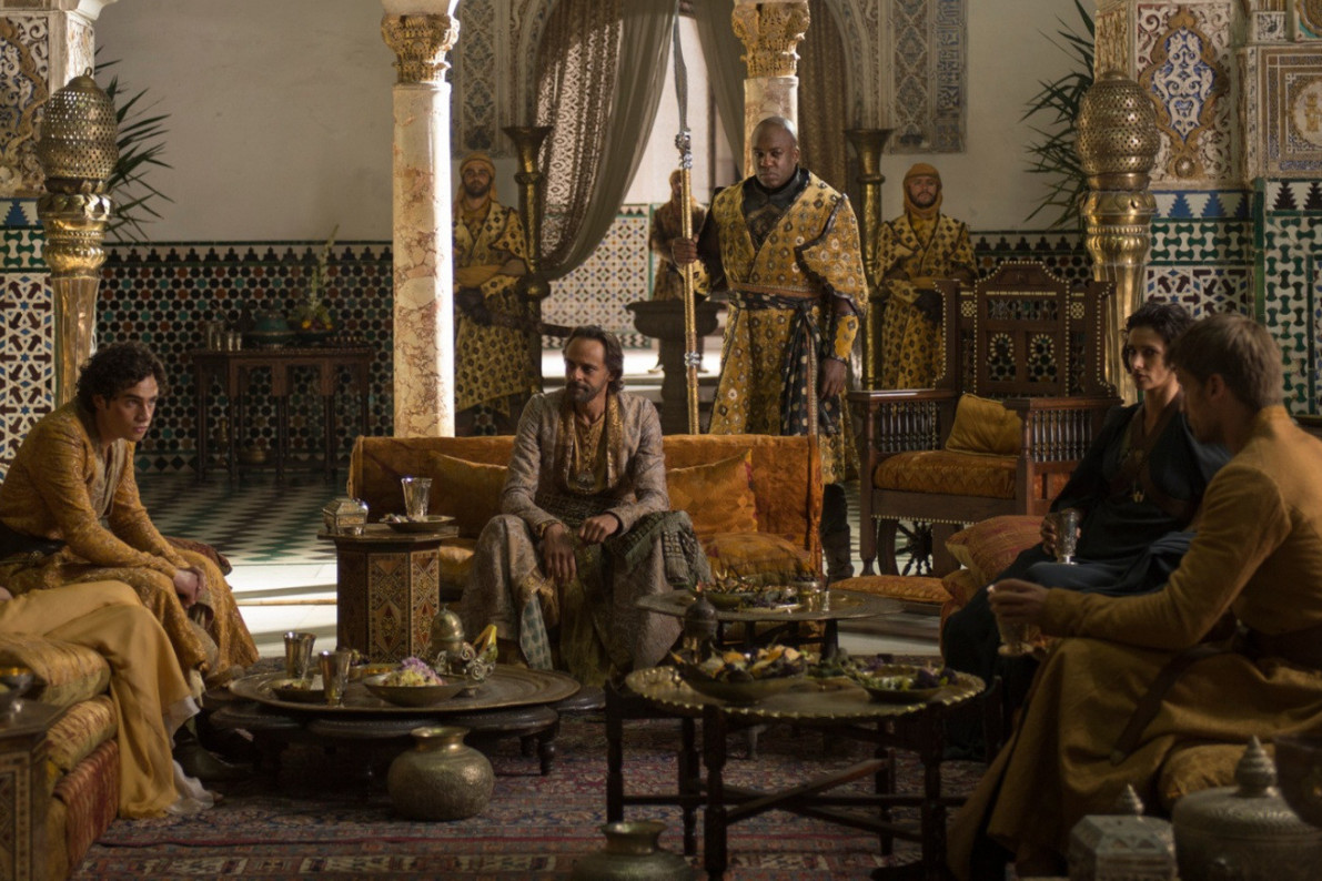 a game of thrones kickstarter to fix dorne vocativ. Black Bedroom Furniture Sets. Home Design Ideas