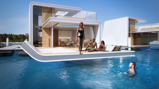Your backyard is a reef in this ultra luxurious floating home vocativ - The floating homes of dubai luxury redefined ...