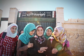 This Bombed-Out School in Syria Refuses to Close